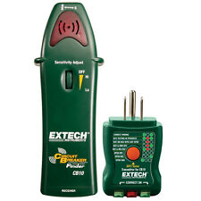 Extech CB10 Circuit Breaker Finder Locates Fuses Tests GFCI and Receptacles