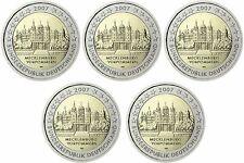 ** 2 EURO COMMEMORATIVE - CIRC - ALLEMAGNE 2007 - Mecklenburg