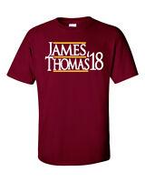 "Lebron James Isaiah Thomas Cleveland Cavaliers ""James 17"" jersey T-shirt Shirt"