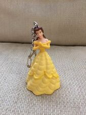 NEW Disney Key Ring Chain Belle Beauty And The Beast Figure