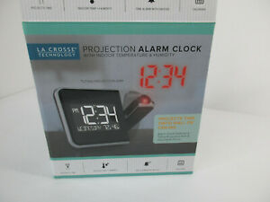 La Crosse Technology Projection Alarm Clock Battery Backup Tested works