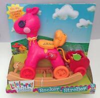 Lalaloopsy Littles Rocker N Stroller Rocking Horse w/Apple Pet Cart 2 in 1 NIB