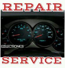 2007 14 CHEVROLET TRAILBLAZER Instrument  Cluster Repair displays repair service