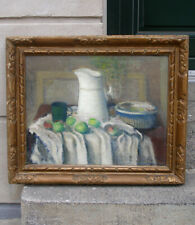 Sigurd  Lonholdt (1910) Rare Still-life from the Royal Academy. Dated 1941.