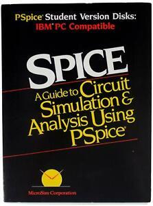 VTG 80s PSpice Electrical Circuit Simulator IBM PC 2 x Floppy Diskette SET 1988