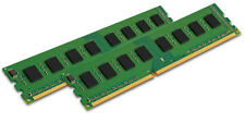 KINGSTON 2x 4GB 8GB PC RAM DIMM DDR3 1333Mhz PC3-10600 KVR1333D3N9/4G PC3-10600U