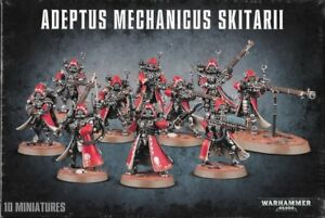 Adeptus Mechanicus Skitarii Rangers / Vanguard Warhammer 40K NIB Flipside