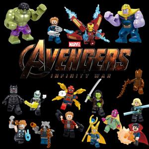 Marvel Super Heroes Avengers Infinity War Set 16 Minifigures Set- USA SELLEr