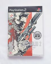 PS2 - Metal Gear Solid 2 Sons of Liberty (2 Discs Including DVD) - With Manual