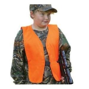 Allen Blaze Orange Youth Hunting Safety Vest for Elk Deer Birds Antelope