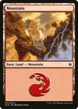 4x Magic MTG Tradingcard Ixalan 2017 Mountain 274/279