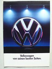 Prospekt Volkswagen VW Programm - Polo bis Corrado G 60, 1.1990, 24 Seiten