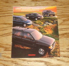 Original 1997 Isuzu Full Line Foldout Sales Brochure 97 Rodeo Trooper