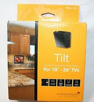 "PT630 Peerless LCD TV Tilting Wall Mount 10""-26"", Tilt, Black Bracket Paramount"