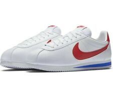 Nike Classic Cortez Leather White Trainers UK 8 **Brand New In Box**