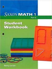 Grade 1 Saxon Math Student Workbook Part 2 3rd Edition 1st