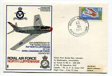 Canada / Newfoundland 1971 Goose Airport - RCAF Flight Cover to England -