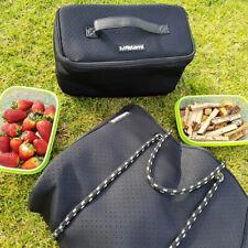 Mealami Neoprene Tote Meal Prep Bag | Vegan Gym Management Laptop Handbag