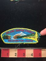 Vtg DAMAGED! As-Is! INLAND EMPIRE COUNCIL BSA Boy Scout Flap Patch C77S