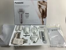 Panasonic Cordless Shaver & Epilator for Women With 7 Attachments ES-EL9A-S Used