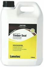 Lanotec Timber Seal Lanolin Protectant 5L Rough Sawn Decking Sealant Water