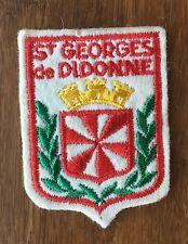 Vintage French St Georges de Didonne Patch - France Souvenir