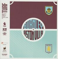 BURNLEY V ASTON VILLA  2019/20