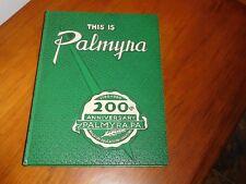 1960 bicentennial book PALMYRA PA near hershey annville hummelstown harrisburg