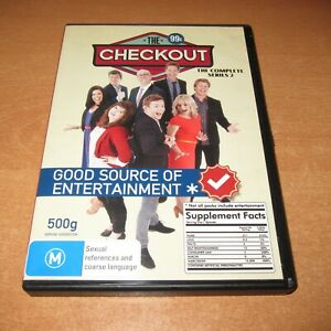 THE CHECKOUT - COMPLETE SERIES 2 ( DVD , 2 DISC SET REGION 4 ) LIKE NEW