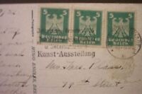 OLD POSTCARDS BASTEI SWITZERLAND GERMANY MUNICH STAMPS