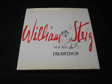 William Steig Drawings by William Steig HC First 1st Like New Signed 1979