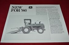 John Deere 5730 5830 Self Propelled Harvester Dealers Brochure  LCOH