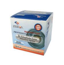 2x teleconverter Telephoto Lens AF For Canon DSLR 58mm