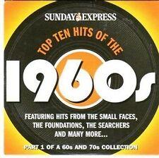 (CC658) Top Ten Hits of the 1960s, Sunday Express - 2004 CD