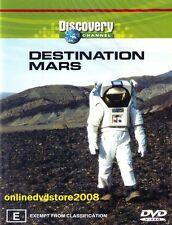 DESTINATION MARS - NASA (Buzz ALDREN) Space Station Discovery CHANNEL DVD Reg 4