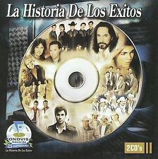 La Historia de los Exitos [Fonovisa] by Various Artists (CD, 2009, 2 Discs, F...