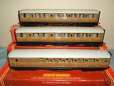 HORNBY RAILWAYS MODEL'S No,s  R477 / R478  3 x LNER *TEAK * COACHES
