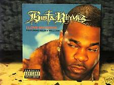 BUSTA RHYMES-I LOVE MY CHICK-whit KELIS & WILL.I.AM cdsingolo cardsleave