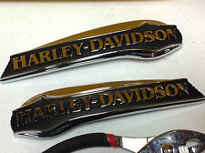 Ultra EMBLEMS HARLEY-DAVIDSON GAS FUEL TANK EMBLEM SET