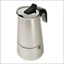 CAFETIERE ITALIENNE EXPRESSO CAFE INOX 6 TASSES  NEUF GARANTI 2 ANS