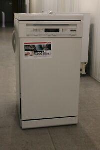 Miele G4722 SC Freestanding Slimline Dishwasher, White