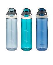 Contigo Autospout 24oz Water Bottle - 3 Pack (Monaco, Scuba, Stormy Weather)