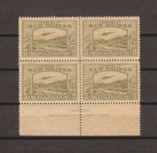 NEW GUINEA 1939 SG 225 MNH Block Cat £560