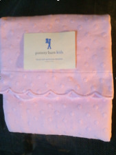 Pottery Barn Kids Polka Dot Matelasse Bedding Pink Std Sham