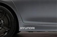 2x Skirt Side Stickers fits Hyundai Coupe Sonata Car Decal Bodywork Sticker VK29