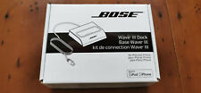 Bose Wave Boselink iPod iPad iPhone 30-pin Port Connection Dock With Bluetooth