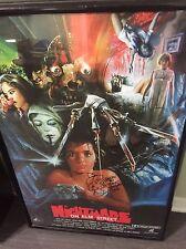 Robert Englund Freddy Krueger Signed Nightmare On Elm Street 24 X 36 Poster