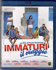 Blu-ray IMMATURI IL VIAGGIO RAOUL BOVA RICKY MEMPHIS ANITA CAPRIOLI