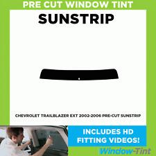 Pre Cut Sunstrip - Chevrolet Trailblazer EXT 2002-2006 - Window Tint