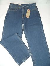 Levi's 550 Relaxed Fit Stonewashed Denim Blue Jeans Tag Wrong Fit 29x29 NEW